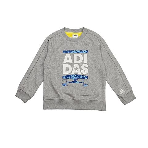adidas阿迪达斯新款专柜同款小童男套头衫AH9654