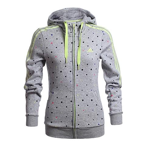 adidas阿迪达斯新款女子运动训练系列针织外套AB3229