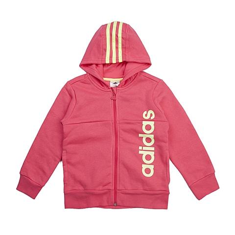 adidas阿迪达斯新款专柜同款小童女针织茄克AB6446