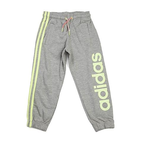 adidas阿迪达斯新款专柜同款小童女针织长裤AB6442