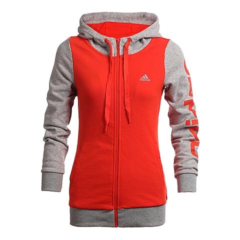 adidas阿迪达斯新款女子运动训练系列针织外套AJ3568