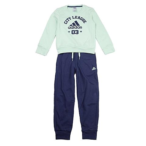 adidas阿迪达斯新款专柜同款大童女长袖套服AB3169