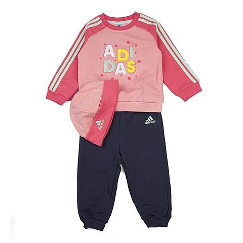 adidas阿迪达斯新款专柜同款女婴长袖套服AB6989