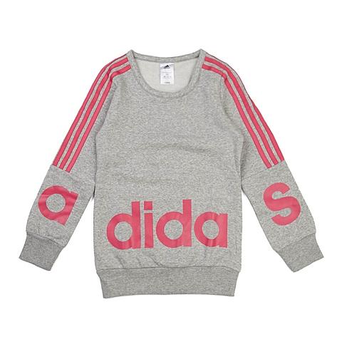 adidas阿迪达斯新款专柜同款大童女套头衫AB4451