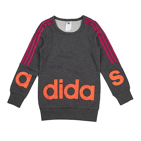 adidas阿迪达斯新款专柜同款大童女套头衫AB9152