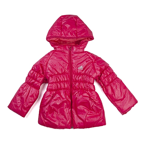 adidas阿迪达斯新款专柜同款小童女棉服AB4682