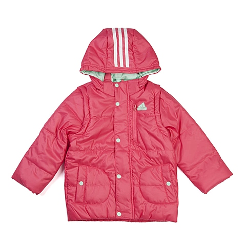 adidas阿迪达斯新款专柜同款小童女棉服AB4352