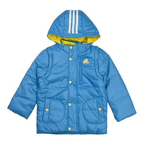 adidas阿迪达斯新款专柜同款小童男棉服AB4351