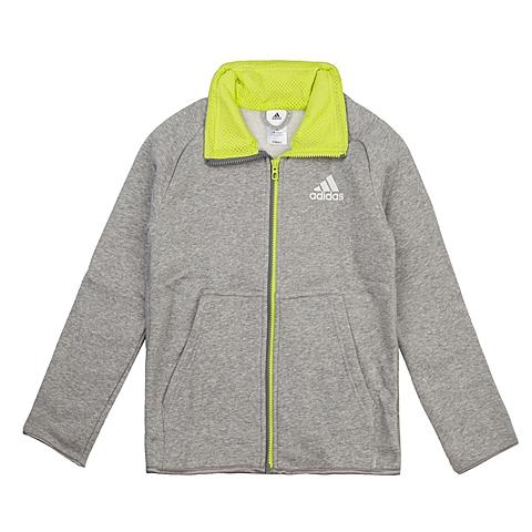 adidas阿迪达斯新款专柜同款大童男针织茄克AA8145