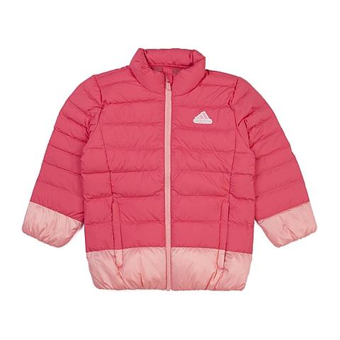 adidas阿迪达斯新款专柜同款小童女羽绒服AH9663