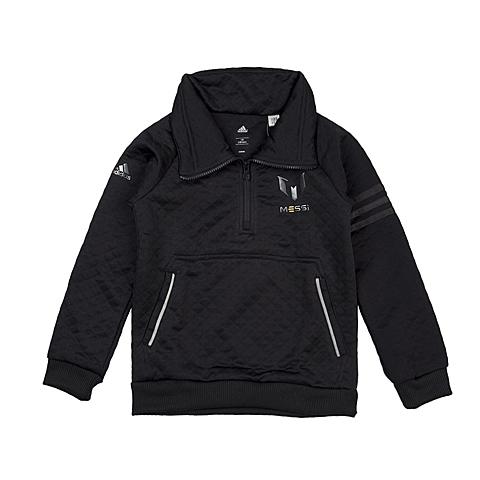 adidas阿迪达斯新款专柜同款男大童梅西系列套头衫A97388