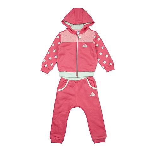 adidas阿迪达斯新款专柜同款女婴长袖套服AH5428