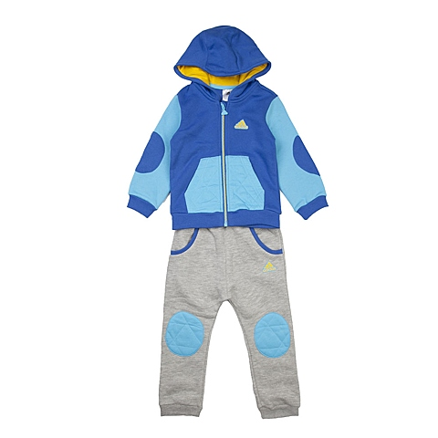 adidas阿迪达斯新款专柜同款男婴长袖套服AH5426