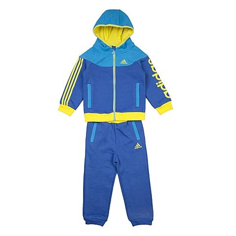 adidas阿迪达斯新款专柜同款男婴长袖套服AH5435