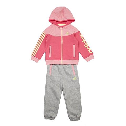 adidas阿迪达斯新款专柜同款女婴长袖套服AH5436