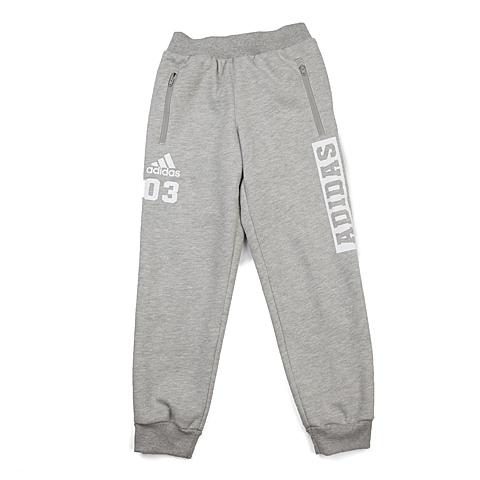 adidas阿迪达斯新款专柜同款大童男针织长裤AH5465