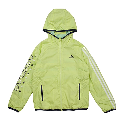 adidas阿迪达斯新款专柜同款大童女梭织茄克AH5467