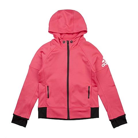 adidas阿迪达斯新款专柜同款大童女针织茄克AB4770