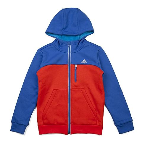 adidas阿迪达斯新款专柜同款大童男针织茄克AH5471