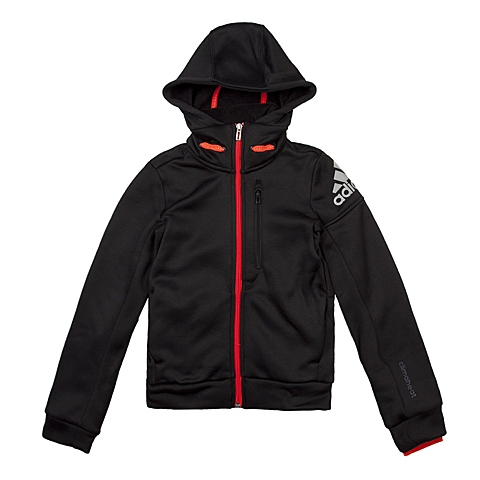 adidas阿迪达斯新款男童CLIMAHEAT系列针织夹克AA8510