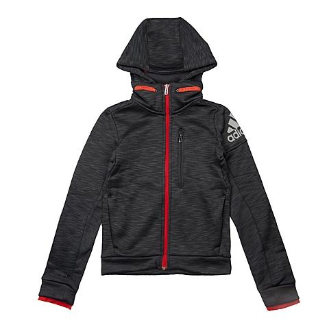 adidas阿迪达斯新款男大童CLIMAHEAT系列针织夹克AA8512