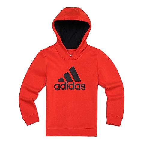 adidas阿迪达斯新款男大童基础系列套头衫AB5762
