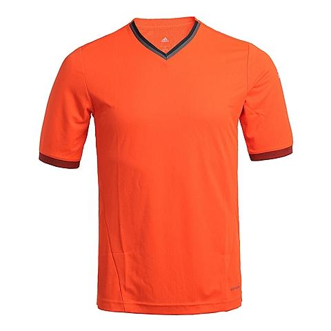 adidas阿迪达斯新款男子足球常规系列短袖T恤AB1368