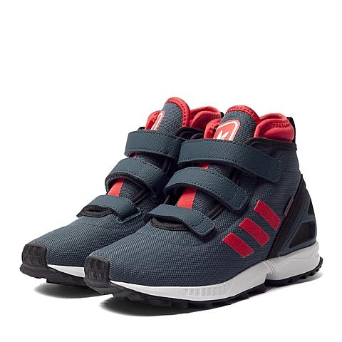 adidas阿迪三叶草新款男童ZX FLUX系列休闲鞋B24750