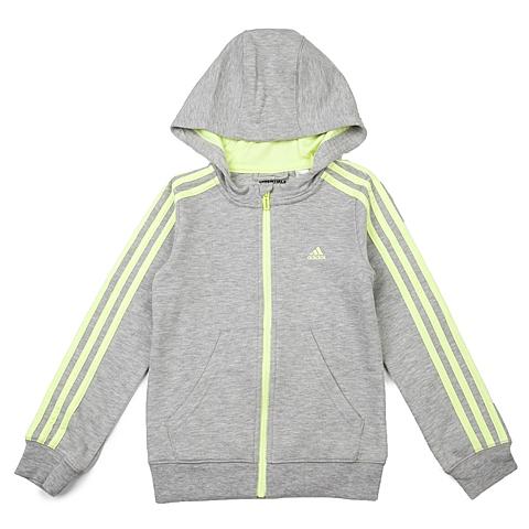 adidas阿迪达斯新款女大童基础系列针织开衫AB4877