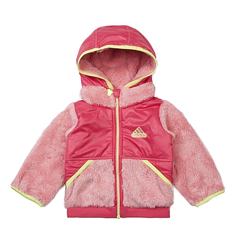 adidas阿迪达斯新款女婴时尚单品系列梭织开衫AH5430