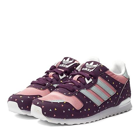 adidas阿迪三叶草新款女童ZX 700系列休闲鞋B25619