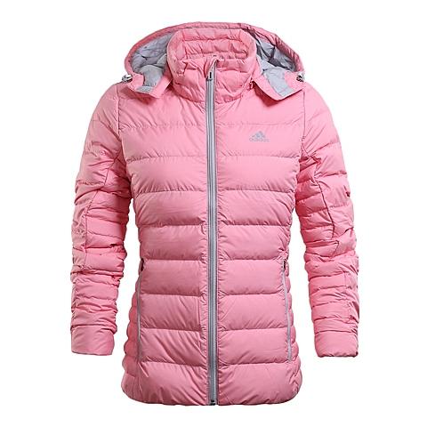adidas阿迪达斯新款女子冬季茄克系列鹅绒羽绒服AB3385