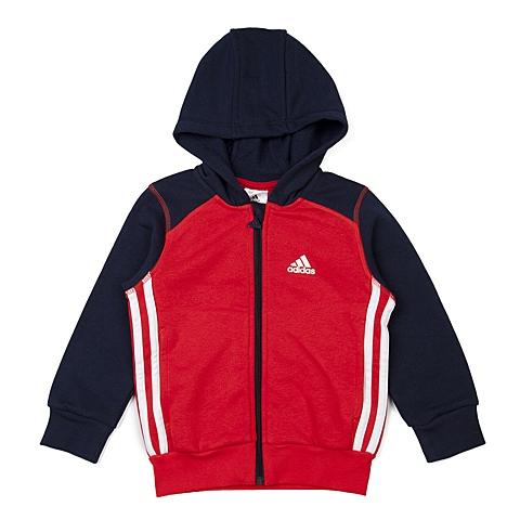 adidas阿迪达斯新款男小童基础系列针织开衫AB6585
