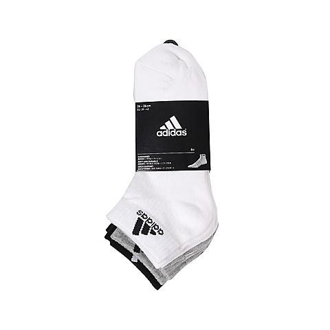 adidas阿迪达斯2016年新款中性训练系列袜子(6双)AA2290