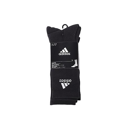 adidas阿迪达斯2016年新款中性训练系列袜子(3双)AA2298