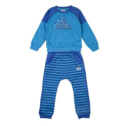 adidas阿迪达斯新款专柜同款男婴长袖套服AJ4007