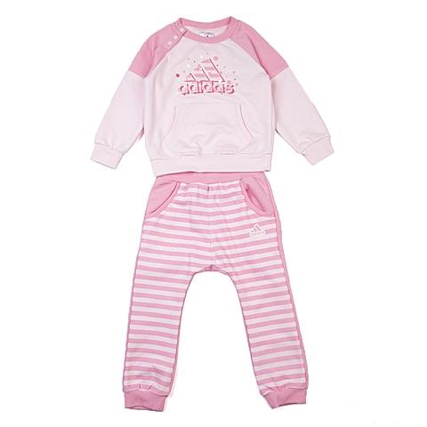 adidas阿迪达斯新款专柜同款女婴长袖套服AJ4008