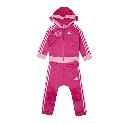 adidas阿迪达斯新款专柜同款女婴长袖套服AJ4012