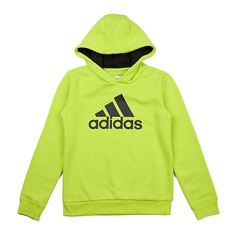 adidas阿迪达斯新款专柜同款大童男套头衫AK2002
