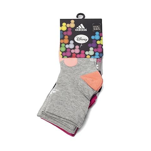 adidas阿迪达斯新款专柜同款女童迪士尼系列袜子(3双)AI5236