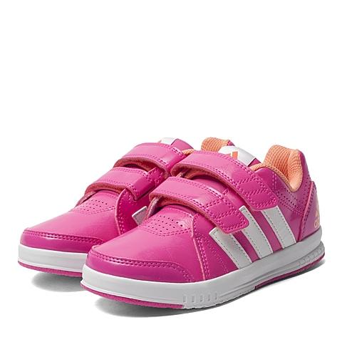 adidas阿迪达斯新款专柜同款女小童训练鞋AF4642