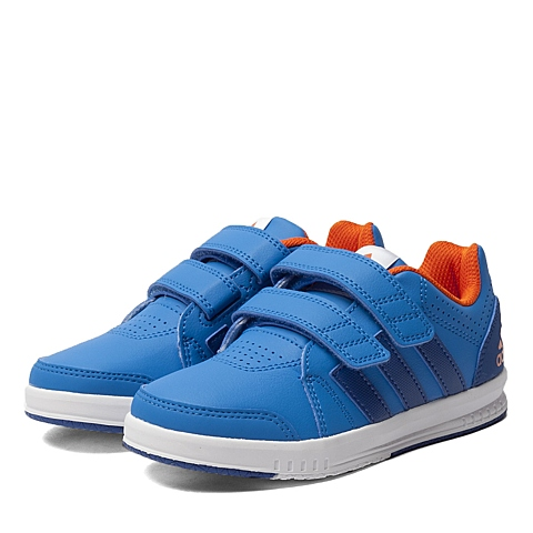 adidas阿迪达斯专柜同款男小童训练鞋AQ4817