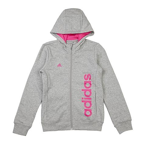 adidas阿迪达斯新款专柜同款大童女针织茄克AO4636