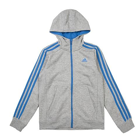 adidas阿迪达斯新款专柜同款大童男针织茄克AO4648