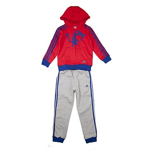 adidas阿迪达斯新款专柜同款男小童新系列长袖套服AJ4052