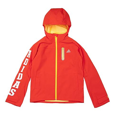 adidas阿迪达斯新款专柜同款大童男梭织茄克AJ3957
