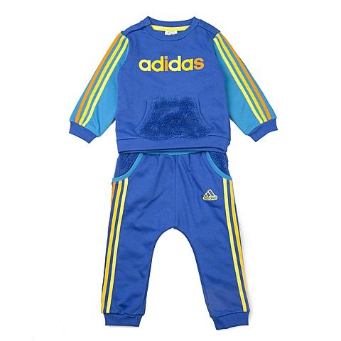 adidas阿迪达斯新款专柜同款男婴长袖套服AJ4001