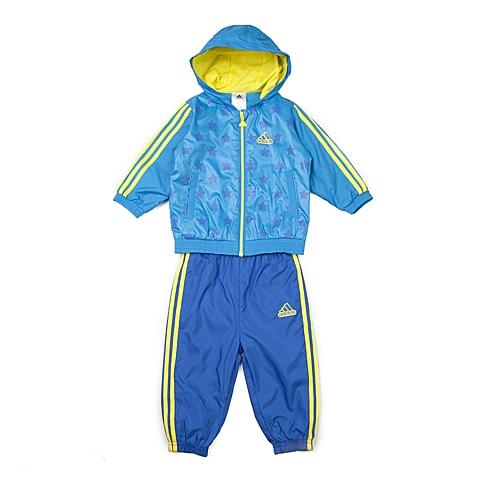 adidas阿迪达斯新款专柜同款男婴长袖套服AJ4005
