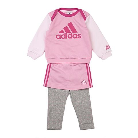 adidas阿迪达斯新款专柜同款女婴长袖套服AJ4002