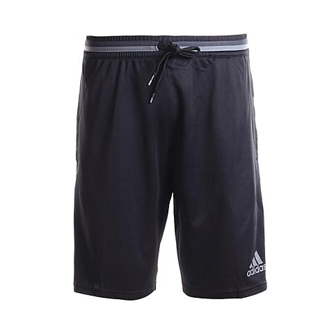 adidas阿迪达斯新款男子足球常规系列针织短裤AN9839
